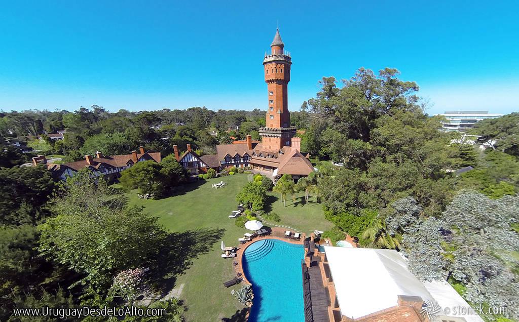 Fotos aéreas de Instalaciones hoteleras. Hotel L'Auberge de Punta del Este