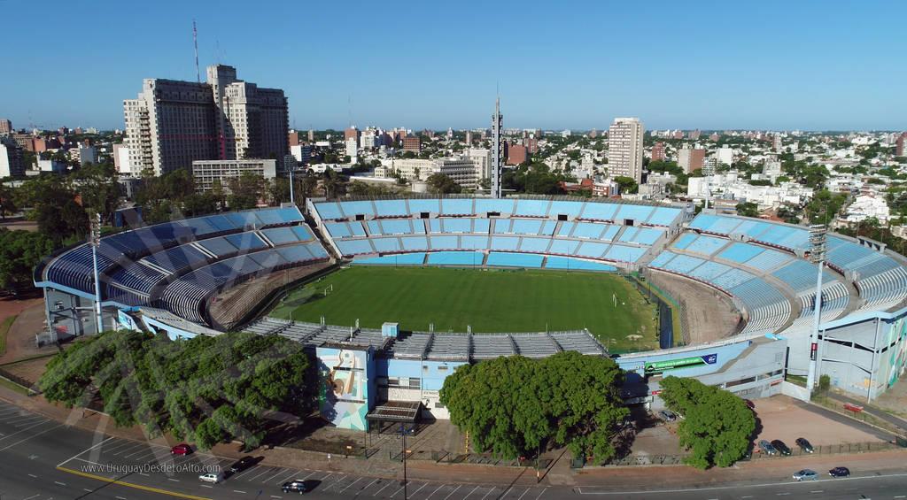 Foto aérea del Estadio Centenario de Montevideo. Foto de 20MP